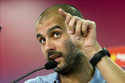 """Guardiola: """"¿Perfecto? No, pero en el global estoy encantado"""""""