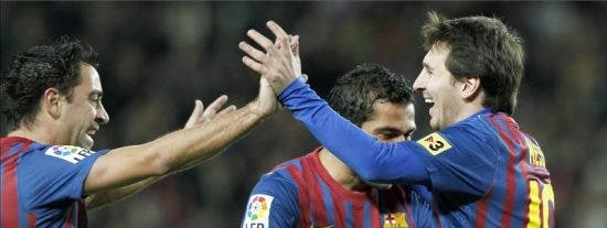 5-0. El Barça finiquita en media hora el último trámite antes del Bernabéu