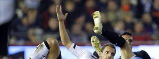 2-1. Soldado dejó los puntos en casa ante un Espanyol que plantó cara