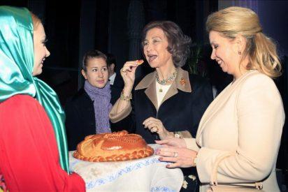 La Reina y la primera dama rusa inauguran el Centro Ruso de Ciencia y Cultura