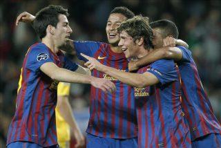 4-0. La cantera pide paso con una goleada de 'Champions'