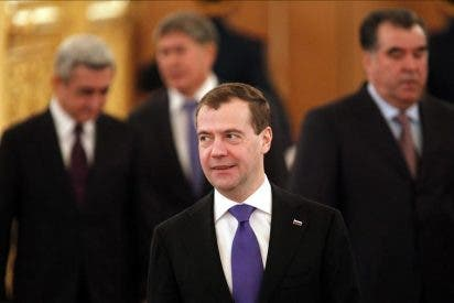 Medvédev presenta a la Duma enmiendas a ley electoral y de partidos