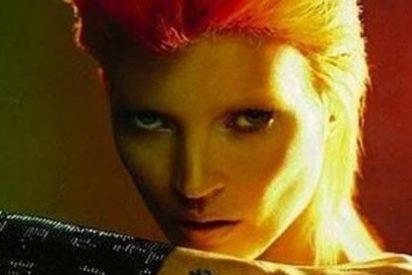 Kate Moss rinde de nuevo un homenaje a la androginia de David Bowie