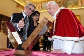 El Papa recibe al presidente armenio