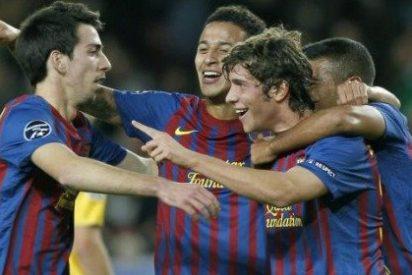 El 'Baby Barça' o la 'Quinta del BATE' nacen en la Champions