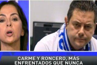 """Tomás Roncero se burla de Carme Barceló por su condición de catalana: """"En cuanto os nombran el dinero os desquiciáis"""""""