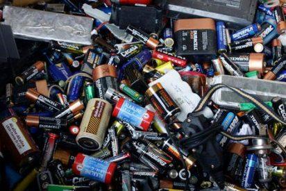 Los riesgos de las baterías usadas que llegan a México