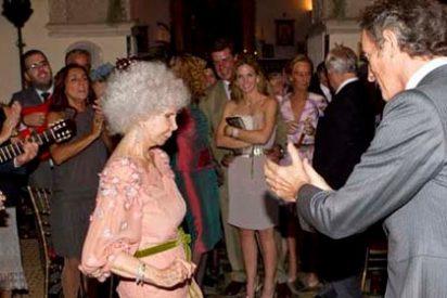 La Duquesa de Alba se muestra más andaluza que nunca