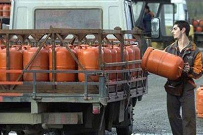 El precio del butano se congelará en el mes de enero