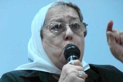 La pasionaria Hebe de Bonafini, amiga de todos los terroristas de izquierdas