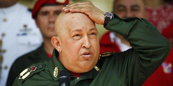 Hugo Chávez dice que EEUU causa el cáncer a líderes sudamericanos