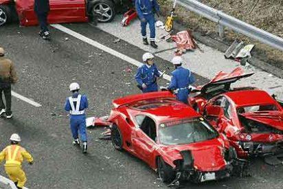 ¿El accidente de tráfico más caro del mundo?