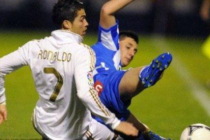 El Real Madrid solventa el trámite ante la Ponferradina con goles de Callejón y Cristiano Ronaldo (0-2)