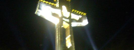 La cruz más alta de México se construye en Chiapas