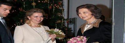La primera dama rusa funda la primera iglesia ortodoxa de Madrid