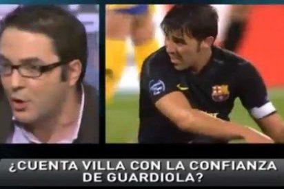 Los tertulianos de 'Punto Pelota' se mofan de Carles Fité a costa del tema 'Villa'