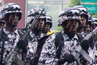 El Ejército mexicano se hace cargo de Veracruz tras el cierre de la policía local