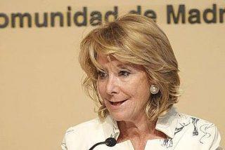 """Esperanza Aguirre sacude a Tomás Gómez: """"Es usted patético"""""""