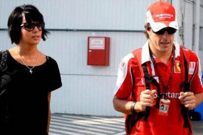 Fernando Alonso y Raquel del Rosario echan el freno a su matrimonio