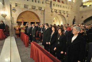 El Gobierno foral asiste en Javier a la misa en honor al patrón de Navarra