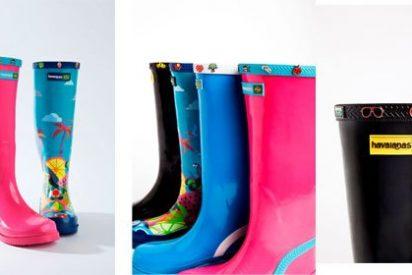 Customiza tus 'rain boots' Havaianas!!