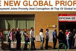 The Huffington Post ilustra el desempleo con una foto de las colas del INEM