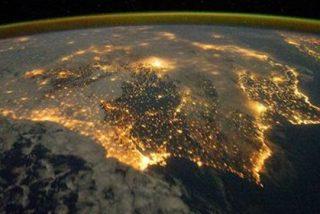 Imagen del día: La Península Ibérica vista desde el Universo