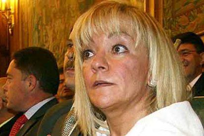 Isabel Carrasco invita a comer a los periodistas y paga la Diputación