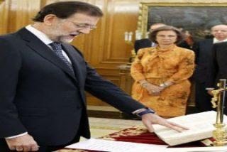 Rajoy, presidente del Gobierno por la gracia de Dios