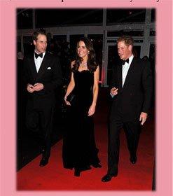 Kate Middleton y Pretty Ballerinas