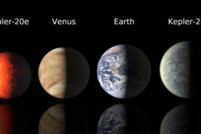 Descubren dos planetas del tamaño de la Tierra