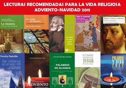 Diez lecturas recomendadas para la vida consagrada