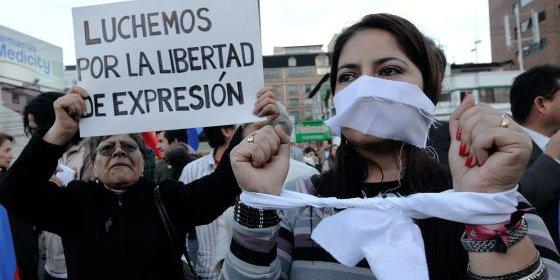 La libertad de expresión, el derecho universal vetado en 89 países