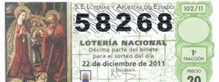 Huesca se lleva el Gordo con el 58.268