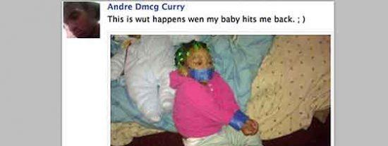 Arrestado un padre por subir a Facebook una foto de su hija maniatada