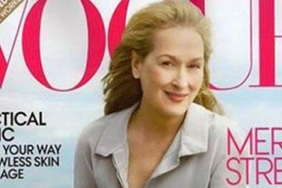 Meryl Streep se convierte en la mujer 'Vogue' más senior de la historia
