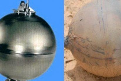 Resuelto el misterio de la bola metálica caída del cielo en Namibia