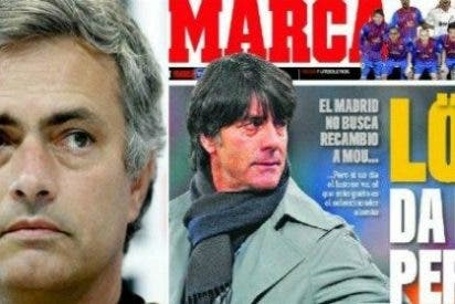 Si Mourinho habla de irse a Inglaterra, 'Marca' le busca sustituto