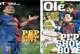 El diario argentino 'Olé' repite una portada del digital 'Sportyou' de 2009