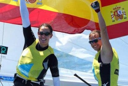 Las españolas Pacheco y Betanzos campeonas del mundo de 470 F
