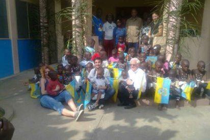 Misa del Gallo para los niños de la Casa de la Paz