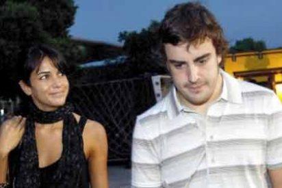 Así fue la historia de amor de Fernando Alonso y Raquel del Rosario