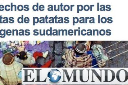 Europa Press y El Mundo se comen una inocentada con patatas con la participación de la doctora Bravas y el señor Papas