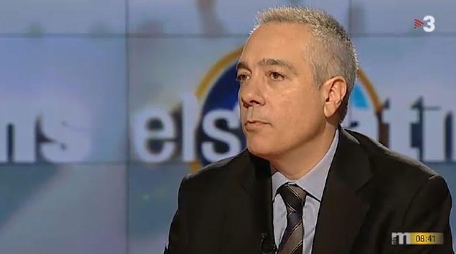 El alcalde de Tarrasa, Pere Navarro sustituye a Montilla al frente del PSC