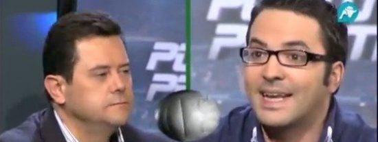 """Tomás Roncero estalla al recomendarle Quim Domenech que baje la cabeza: """"¡Quita esa cara de listillo!"""""""
