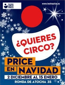 ¿Quieres Circo?. Price en Navidad