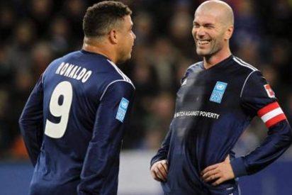 Amigos de Zidane y Ronaldo juegan un año más contra la pobreza