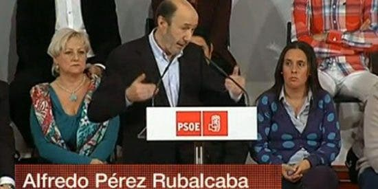 Radio Televisión Socialista: TVE retransmite íntegro el discurso de Rubalcaba en la sede de UGT
