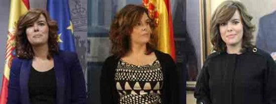 Soraya Sáenz de Santamaría y su nuevo estilo de vicepresidenta