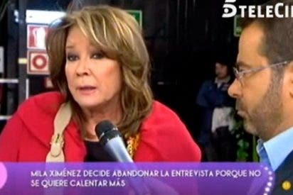 """Desatada, Mila Ximénez, abandona 'Sálvame Deluxe' por un comentario de Belén Esteban: """"¡Me toca los huevos!"""""""